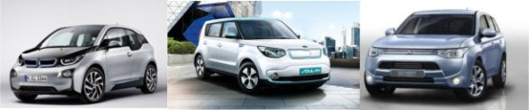 collage_bmw-i3-kia-soul-outlander p-hev